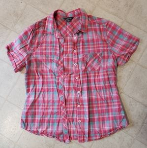 Woman's size M button down Eddie Bauer
